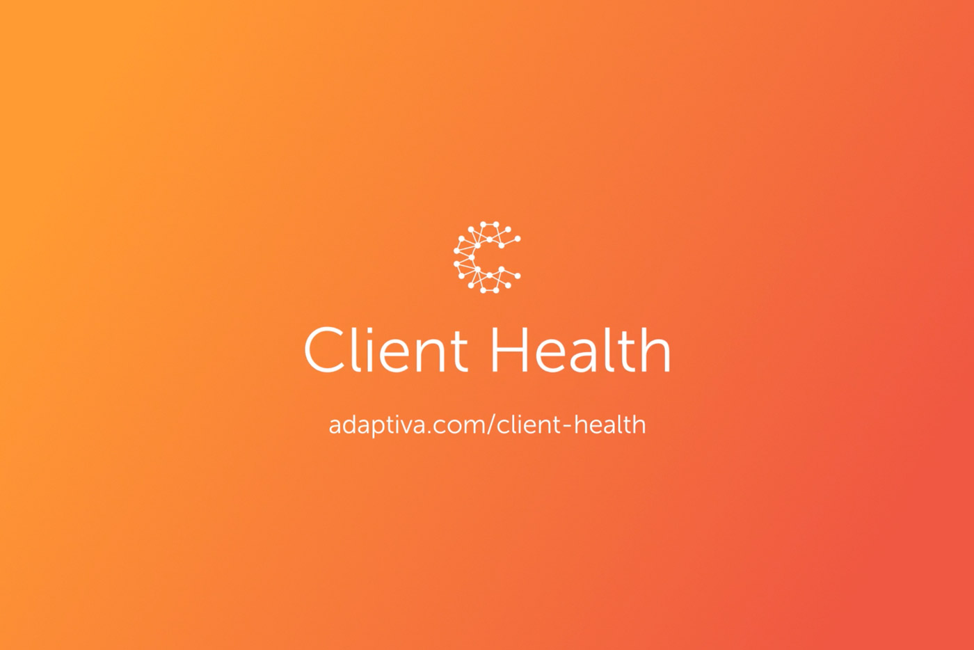 Client Health Product Video